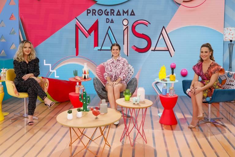 Neste sábado, 26 de setembro   Maisa recebe como convidadas  Eliana e Wanessa Carmargo
