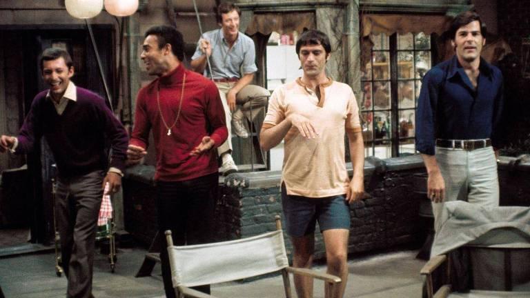 """Cena da versão de 1970 do filme """"The Boys in the Band"""""""