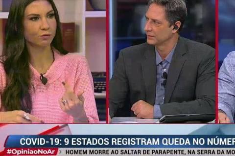 Amanda Klein, Luís Ernesto Lacombe e Roberto Zeballos