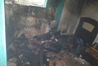 Azulejista suspeito de provocar incendio na casa da mãe em Diadema