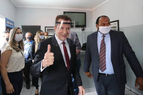 Russomanno gruda imagem na de Bolsonaro e diz estudar auxílio emergencial extra para SP