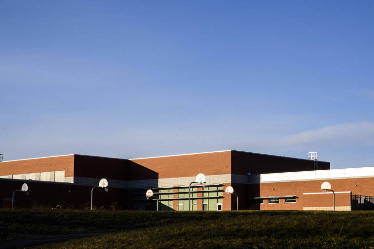 Escola de ensino médio em Columbia, no estado de Maryland
