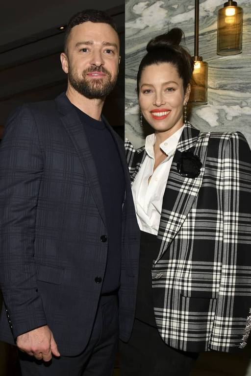 """Jessica Biel e Justin Timberlake O casal deu as boas-vindas a """"um novo bebê"""", revelou Brian McKnight em julho de 2020."""