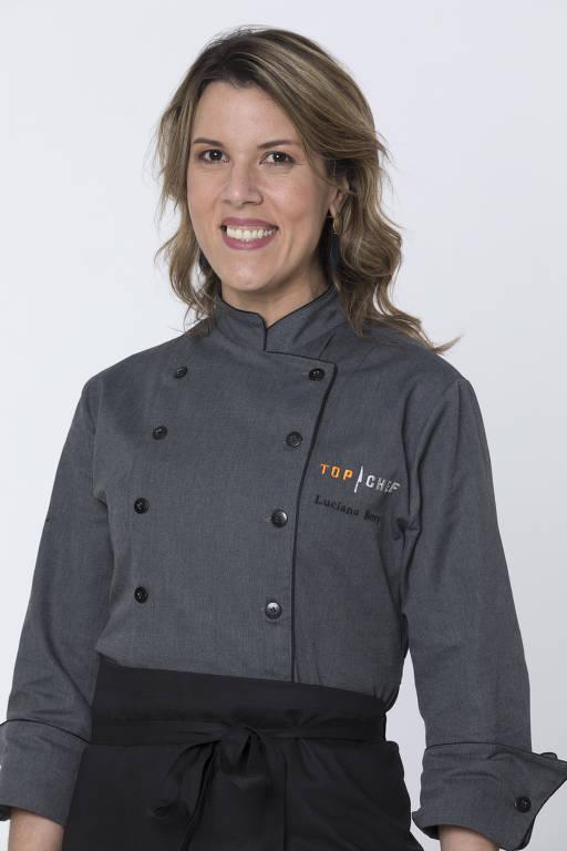 """Luciana Berry, 39 anos, Nasceu em Salvador (BA) e mora em Londres (Inglaterra). Representa uma mudança importante na minha carreira. Além disso, quero mostrar um lado menos arrogante da profissão de chef."""""""