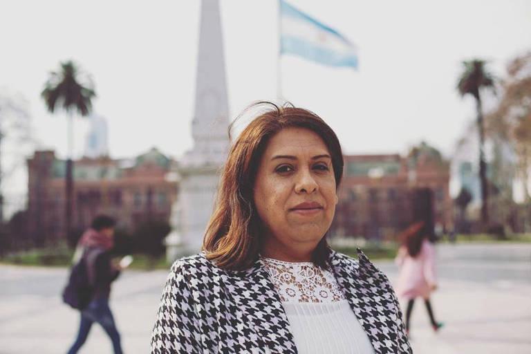 retrato de Alba Rueda