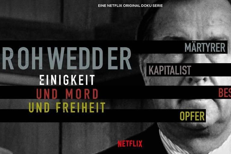 """Documentário """"Rohwedder"""" apresenta um extenso painel das tensões dos anos 1989 a 1991"""