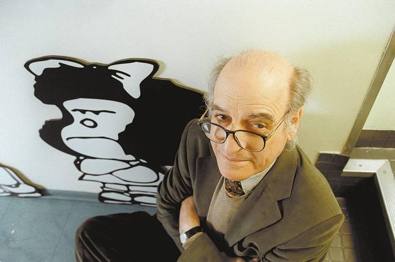 Artistas e cartunistas relembram Quino, criador de Mafalda, morto nesta quarta