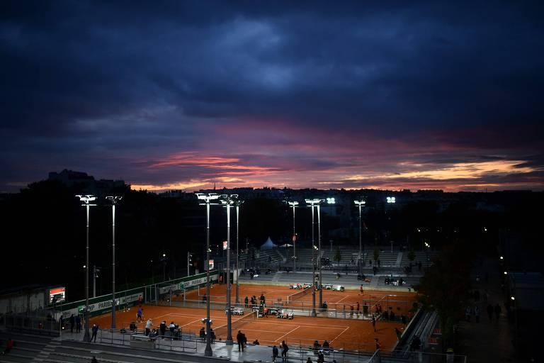 Hotel mostra que 'bolha' de Roland Garros não é uma bolha