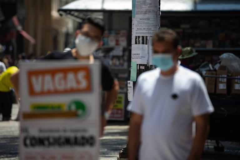 No auge da pandemia foram eliminadas principalmente avagas de baixa qualificação e, portanto, salários mais baixos