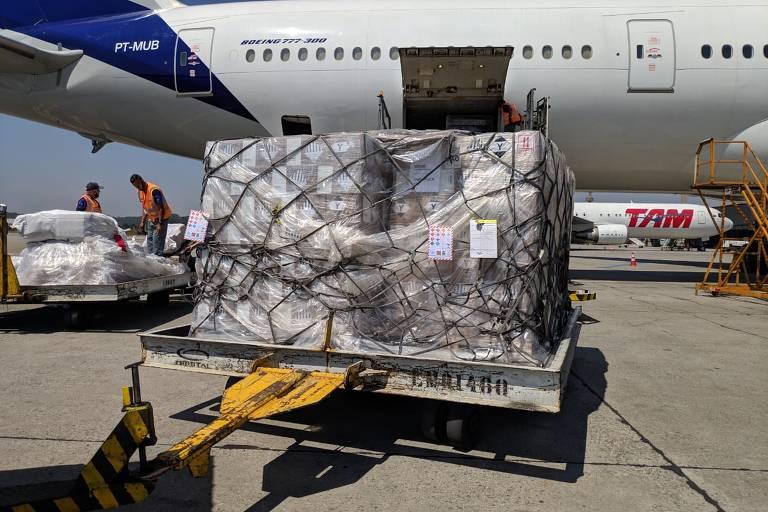 Itens de higiene e proteção doados para as eleições são distribuídos pelo Brasil