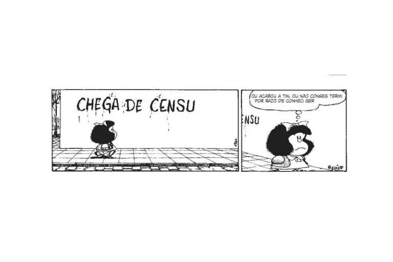 Mafalda percebe o mais delicado da vida, mas também se comporta como criança