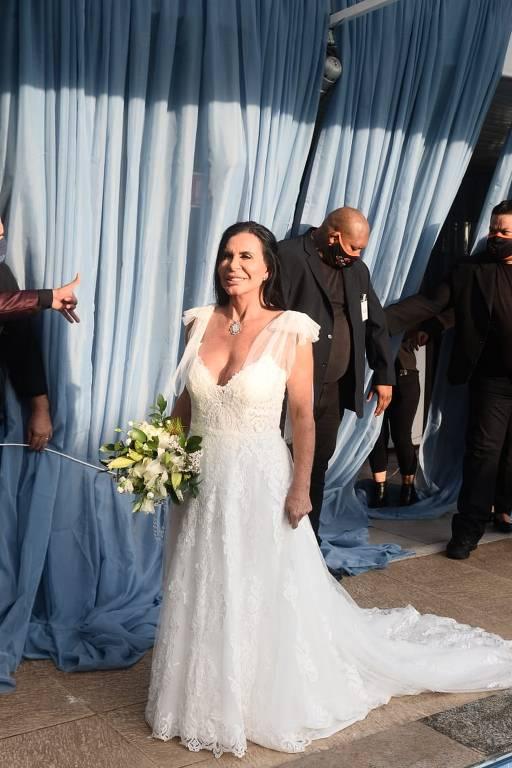 Casamento de  Gretchen e  Esdras