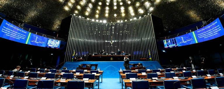 Imagem do plenário do Senado Federal