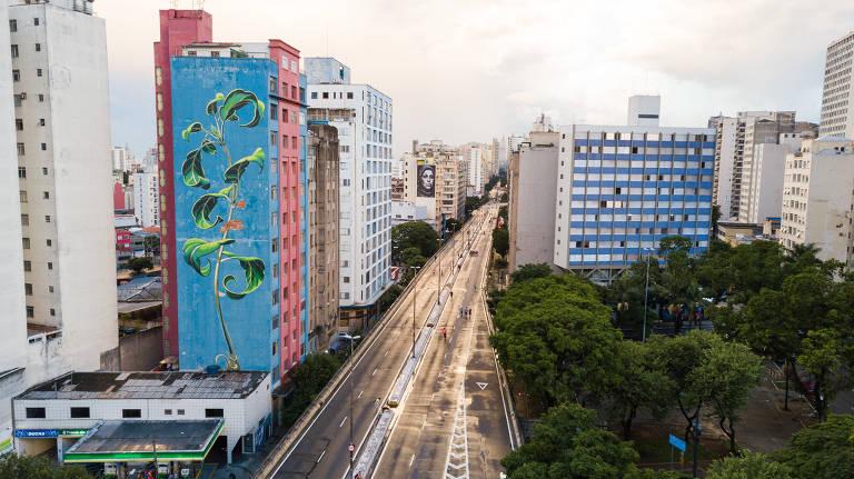 São Paulo ganha mais grafites e se consolida como museu ao ar livre