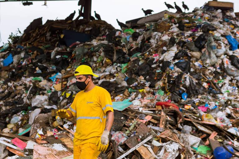 Resíduos do lixão desativado de Santos (SP) devem ser retirados até o final deste ano