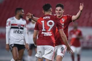 Copa Libertadores - River Plate v Sao Paulo