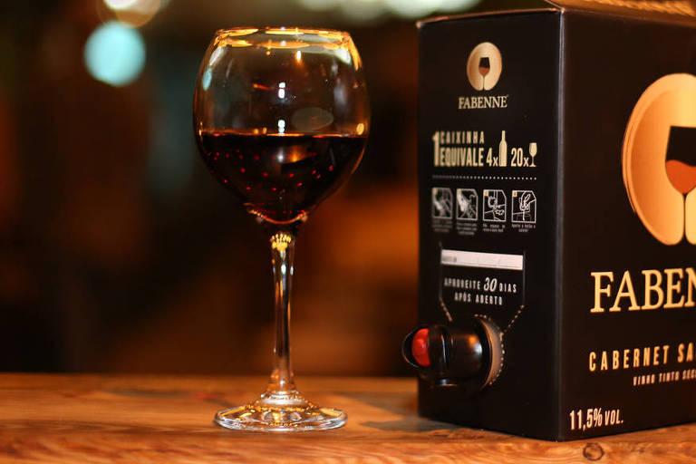 Empresa de vinho em 'caixinha' cresce 400% durante a pandemia