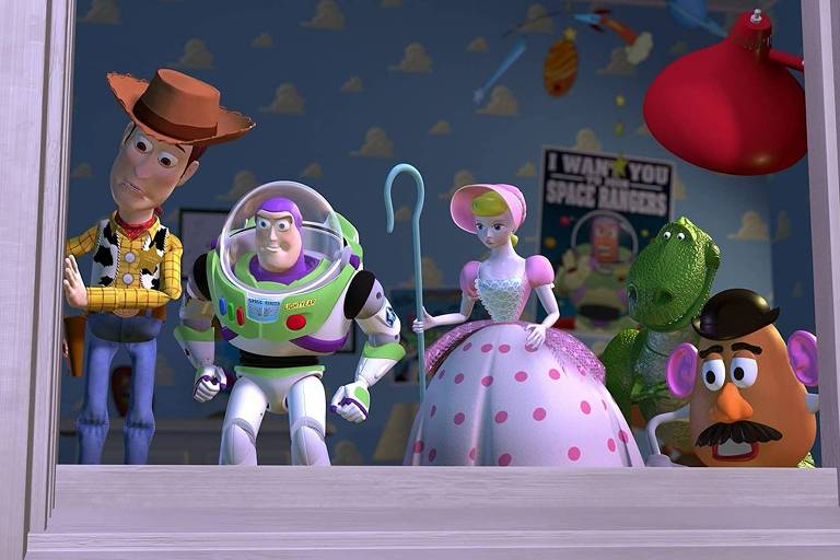Confira cenas da animação 'Toy Story' (1995)