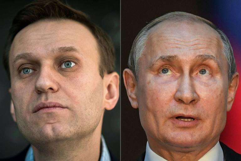 Rosto dos dois políticos