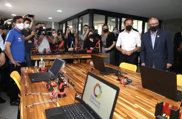 Governo inaugura casa de cultura em São Bernardo do Campo