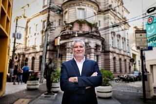 Candidato do PSD Ivan Sartori
