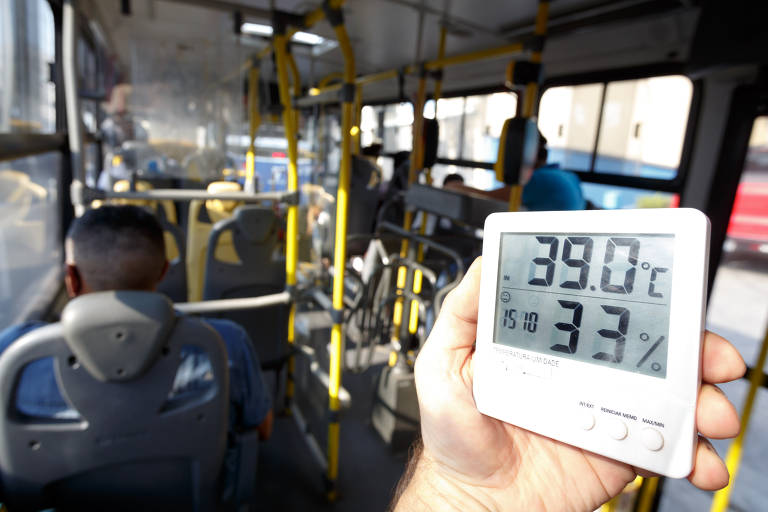 Paulistano encara mais de 41ºC em novo dia de forte calor em SP
