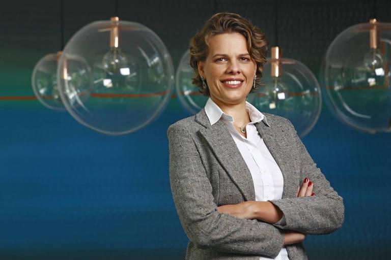 Joana Henning, sócia da produtora Escarlate, para a Rede Social