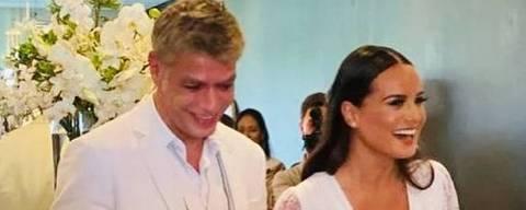 Fábio Assunção se casa com Ana Verena