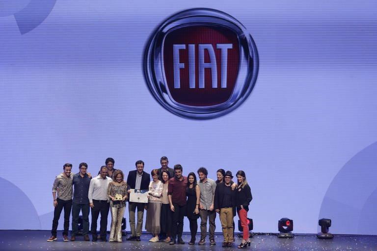 Fiat celebra a conquista isolada na categoria Carro da Top of Mind 2016