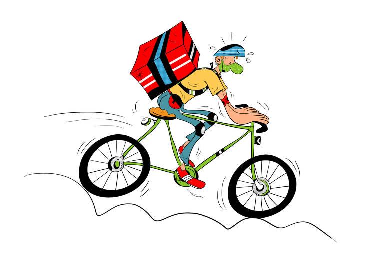Bike ganha espaço na pandemia por recomendação da OMS (Organização Mundial da Saúde)