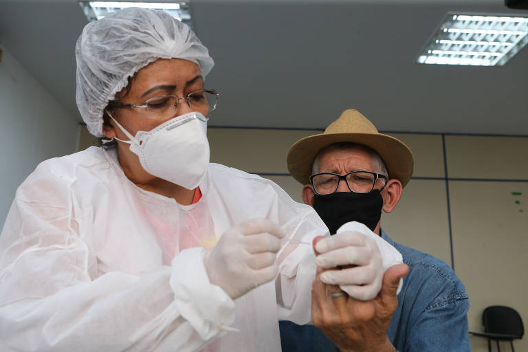 Instituto de Geriatria faz testes da Covid-19 em idosos da zona leste