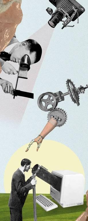 Ilustração para Ilustrissima de Carol Nazatto