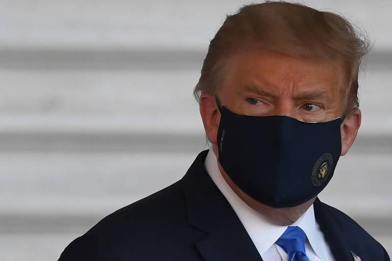 Trump recebe diagnóstico de Covid-19 a 32 dias das eleições