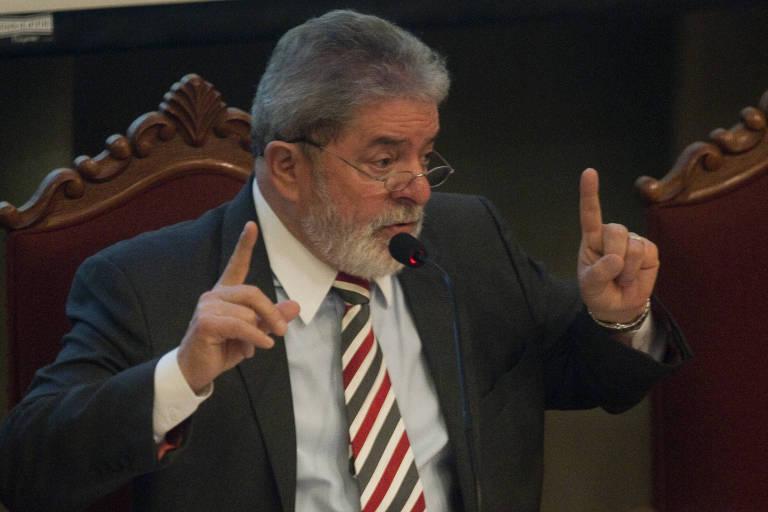 O ex-presidente Luiz Inácio Lula da Silva, durante evento no Rio, em 2011