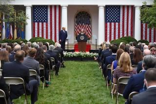 Trump announces Supreme Court nominee
