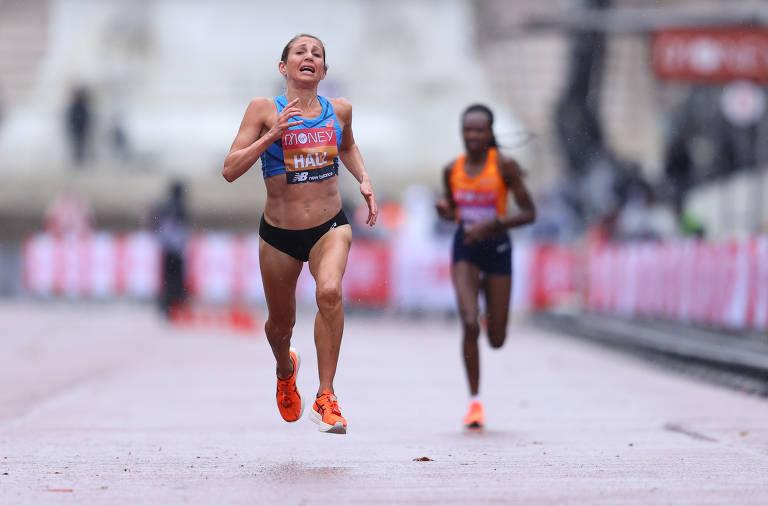Atletas profissionais disputam 40ª Maratona de Londres