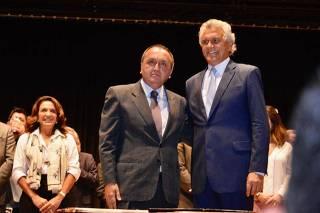 Rodney Miranda e Ronaldo Caiado