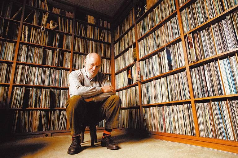 Zuza Homem de Mello e sua coleção de discos