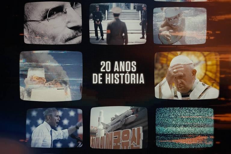 20 Anos de História, no canal History