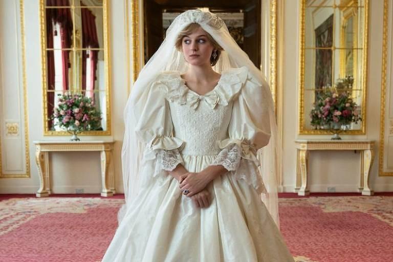 Princesa Diana em The Crown - Emma Corrin