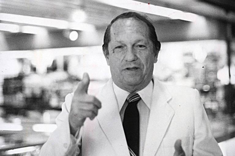 O jornalista Gontijo Teodoro, em 1992