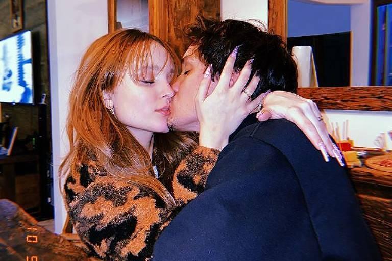Larissa Manoela e o namorado, Leo Cidade