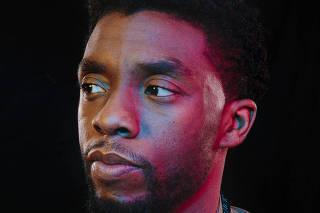 Chadwick Boseman, who stars in the