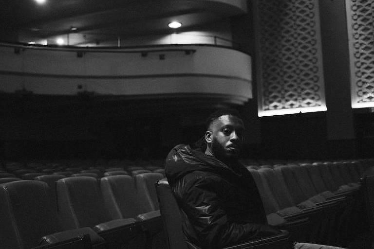 """O rapper Abebe Bikila (BK), que lançou seu disco """"O Líder em Movimento"""" em setembro"""