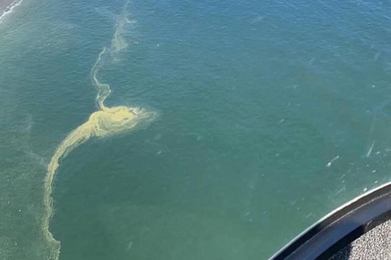 Contaminação no mar de Kamtchatka