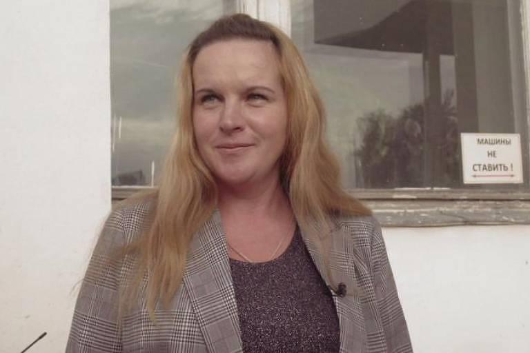 Marina Udgodskaya só entrou como candidata nas eleições para atender a um pedido do chefe, que queria ser reeleito