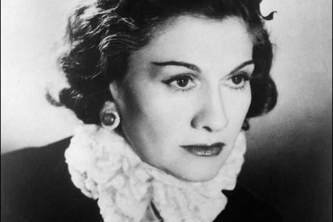 ORG XMIT: IMF179 A file picture taken on 1944 in Paris shows a portrait of the famous French high fashion designer Coco Chanel. French designer Coco Chanel spied for the Nazis during the German occupation of France in World War II, according to a new book,