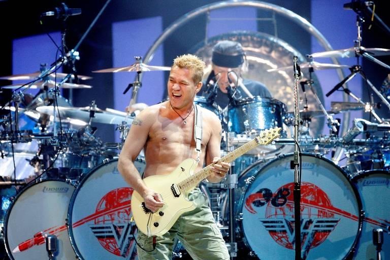 Van Halen é melhor invenção desde a eletricidade, relatou a Folha na turnê de 1983