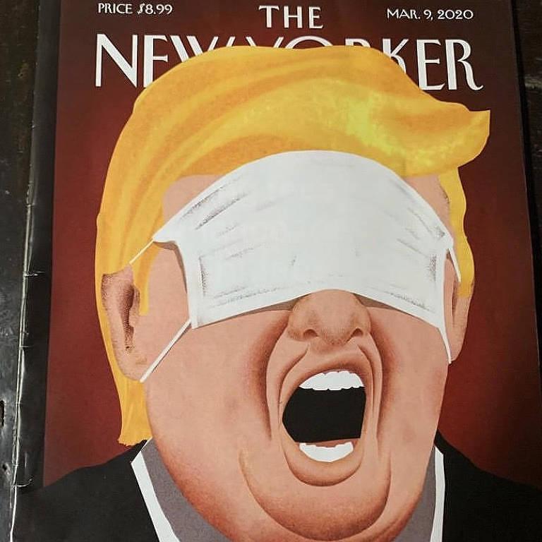 Capa da revista The New Yorker de 9.mar.2020