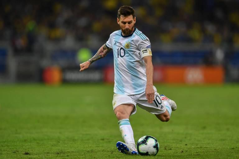 Lionel Messi, 33, vai para o seu quinto ciclo de Copa do Mundo com a seleção argentina